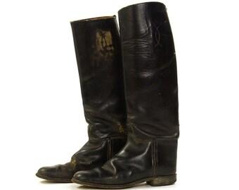 English riding boots | Etsy