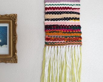 Missing Mitten | One of a Kind Handmade Weaving by Jackie Dives
