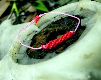 Stackable Macrame Friendship Bracelet
