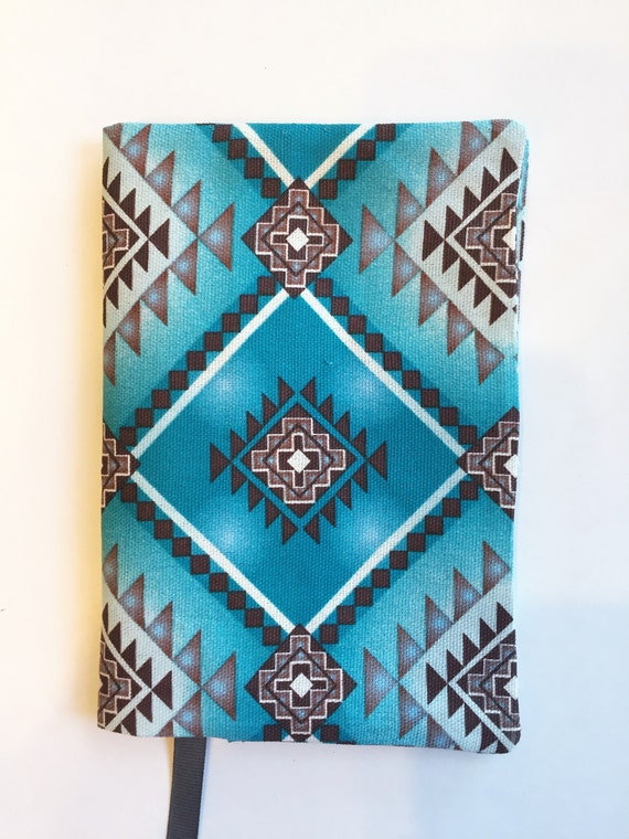 Cloth Cover Book Printing : Fabric book cover paperback southwest by