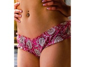 Panties, handmade, ruffle panty, cotton panty, order by hip measurement