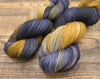 Wit Beyond Measure - Targhee Sock Yarn, hand dyed yarn -- In stock