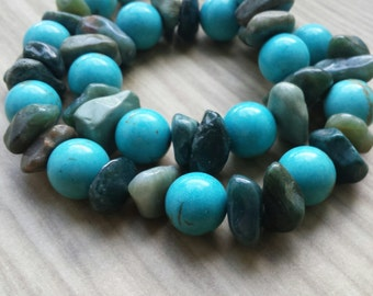 Turtle Blue Necklace