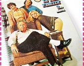 SALE 40% OFF--- ALL In The Family Television Show - Recycled / Upcycled Record Album Cover Journal Notebook Retro Vintage 1973 70s Tv Televi