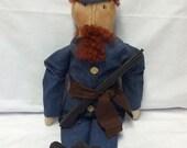 Welcome Spring Sale Primitive Civil War Soldier