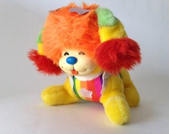 Vintage 1983 hallmark/mattel Rainbow Brite Puppy Brite Plush