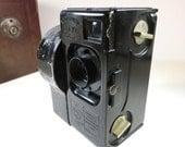 SJK Vintage -- Vintage Antique French Still and Motion Camera -- Debrie Sept II Seven Functions, Spring Driven (1920's)