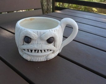 Yeti, mighty and Handthrown with Coleman's porcelain
