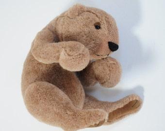 Donald - handmade mohair teddy bear cub, one of a kind, 10 inches, by BigFeetBears