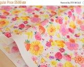 Japanese Fabric Sevenberry Summer Garden - 50cm
