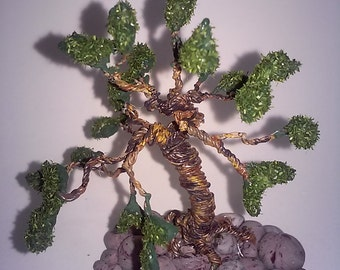 Bonsai artifical handmade miniature tree