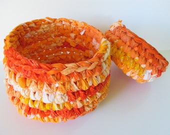 Easter Baskets - Handmade Bowl - Reusable Gift Baskets - Toy Baskets - Organizer Bowls for Desk - Bedroom Decor - Baby Shower Gift