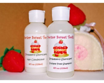 Strawberry Shortcake Shampoo and Conditioner Set (Sulfate and Paraben Free)