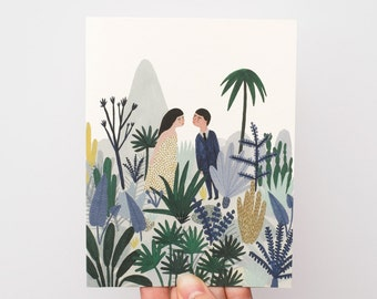 Forest Love Card