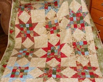 Holiday Christmas Quilt Moda Winterlude Cotton Fabric