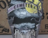 coFFiN BoX DaRk DeCoR cemEteRy at NiGhT ghOst SkElEToN HaLLowEEn ToMb AlTeReD aRt mOOn TomB