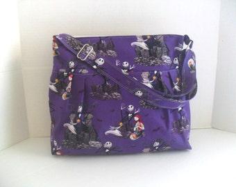 Nightmare Before Christmas Diaper Bag - Messenger Bag - Crossbody