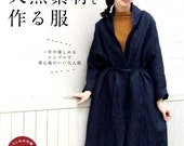 Natural Material Linen Cotton Wool Clothes 2015 - Japanese Craft Book