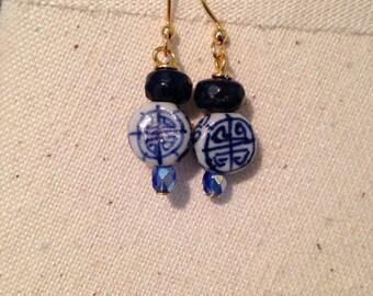 Lady Blue Earrings