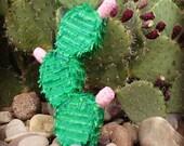 Handmade Cactus Pinata Pad Cactus Mexican Decor Southwest Decor Green Cactus Mobile Cactus Wallhanging Cactus Decoration