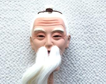 Japanese Doll Head Hina Matsuri Japanese Doll Festival Man's Head D11-54