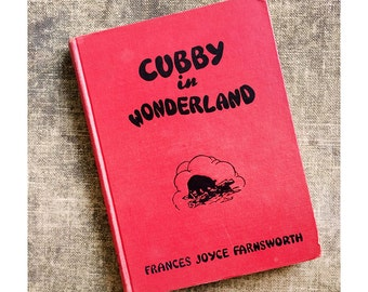 1953 Cubby in Wonderland -  Illustrated Children's Books - Yellowstone Park Story
