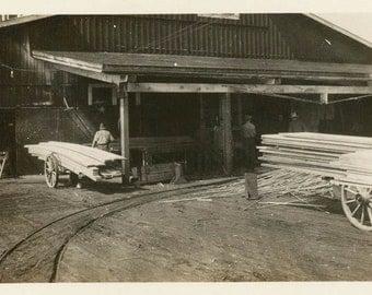 vintage photo 1919 Klamath Falls Oregon Lumber Company