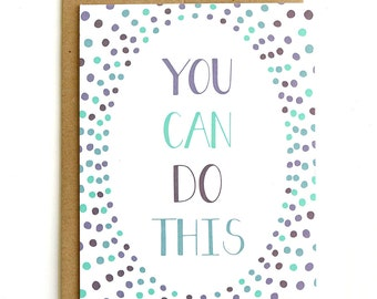 You Can Do This - Card