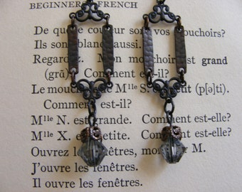 Downton Abbey Lady Crawley Earrings Edwardian Womens Jewelry