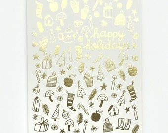 Holiday Treasures - Greeting Card