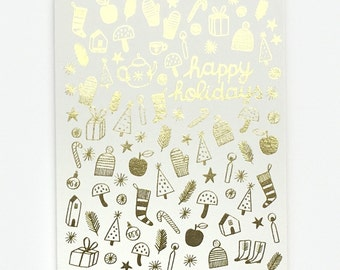 Holiday Treasures - Greeting Card