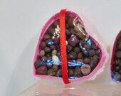 Miniature valentines day box of chocolates