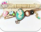 Vintage Inspired Cameo Bracelet