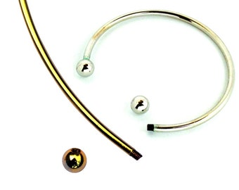 Beading and Jewellery Making Component- Metal Neck And Bangle Wire Set