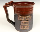 20-24 oz  Personalized mug, custom, made to order