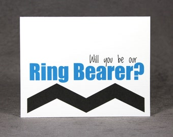 Will You Be Our Ring Bearer Card/ Ask Ring Bearer/ Cord Bearer Card/ Sign Bearer Card/ Book Holder Card