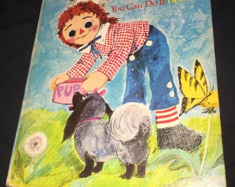 1974 Raggedy Andy Book