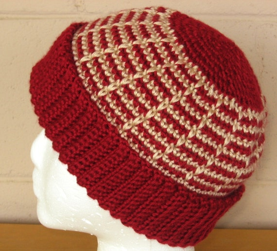 Adult Hat - Crochet Beanie with Cuff - Made-To-Order - Choose Size, Main Color - Hand-Crocheted Caron Simply Soft - Cold Weather Accessory