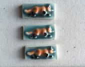 Mosaic Ceramic Tile Porcelain Fox