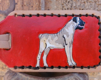 Luggage Tag with Boxer
