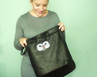 Black Swan Leather Tote *Limited edition*