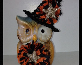 Halloween Decoration Witchy Owl Halloween Ornament Halloween Decor