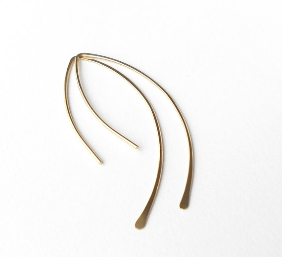Simple Gold Filled Minimalist Earrings