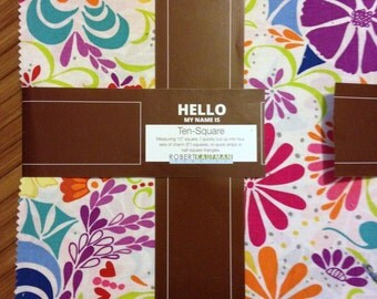 Ashton Road Layer Cake Valori Wells 42 10 x 10 Precut Fabric Quilting