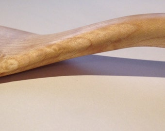 Large Wooden Spatula made from Bird's Eye Maple