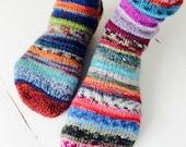 Handknitted women's socks / reserved listing for Elizabeth Wheeler Steele