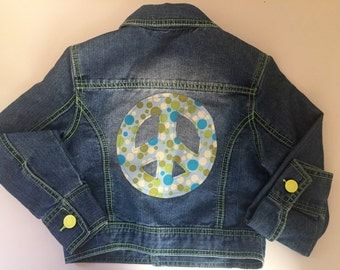Altered Couture Youth Denim Jean Jacket
