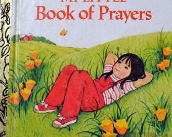 Vintage Children's Book My Little Book of Prayers First  Little Golden Book
