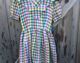 1950s Girls Dress 5/6