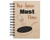 The Spice Must Flow - Lasercut Wood Journal